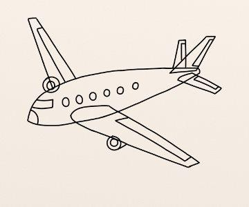 Cum Se Deseneaza Un Avion By Oana