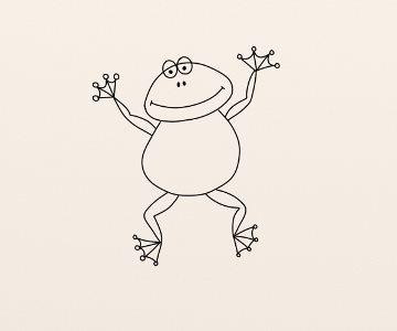 Cum Se Deseneaza O Broasca By Oana