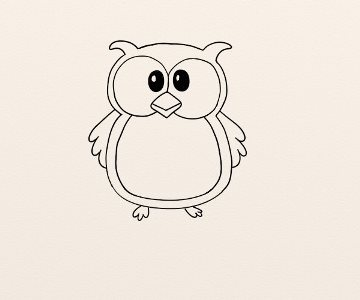 Cum Se Deseneaza O Bufnita By Oana
