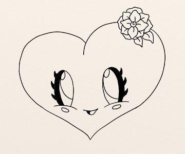 Cum Se Deseneaza O Inimioara Simpatica By Oana