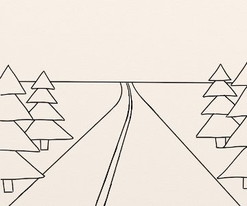 Cum Se Deseneaza Un Peisaj De Munte By Oana