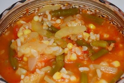 Supa de legume de toamna