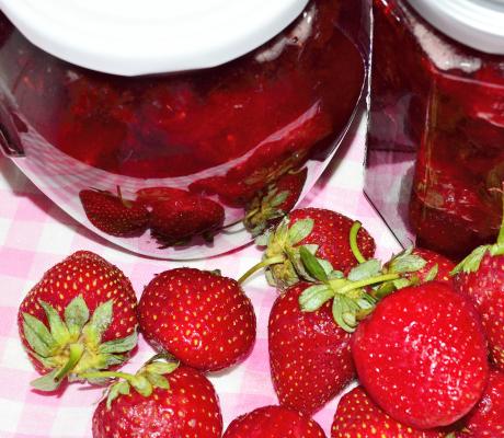 Dulceață de căpșuni