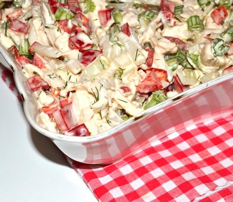 Salata taraneasca de pui