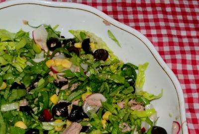 Salata cu ton si ridichi
