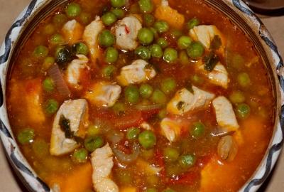 Supa marocana de pui