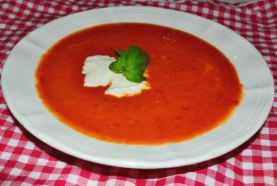 Supa picanta de ardei