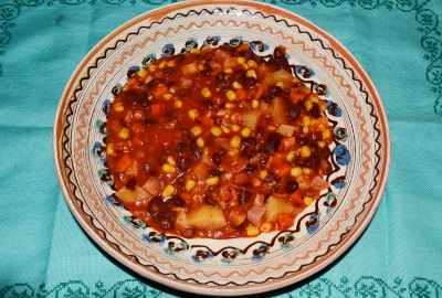 Tocanita mexicana de legume
